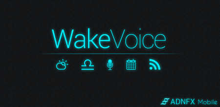 WakeVoice vocal alarm clock