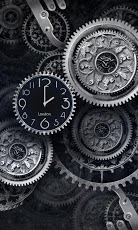 Black clock Live wallpaper v1.01