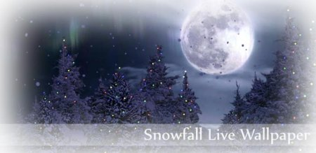 Snowfall Live Wallpaper 2.05 Full