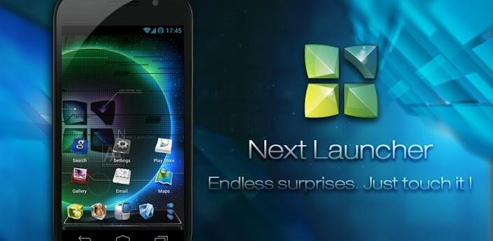 Программу на телефон next launcher