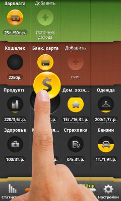 Домашняя бухгалтерия андроид